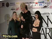 James Darling at the Tranny Awards