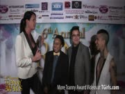 Morgan Bailey Interviewing Best FTM Performer Nominees at the 6th Annual Tranny Awards