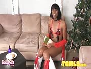 3Tgirls of BlackTgirls Xmas Special