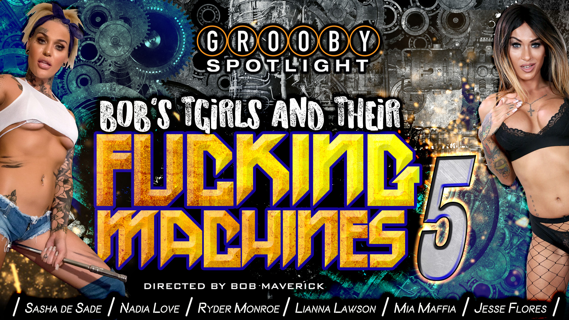Bobs Tgirls and Their Fuck Machine #5 -DVD Trailer