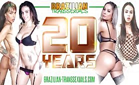 Birthday Party with Brazilian-Transsexuals
