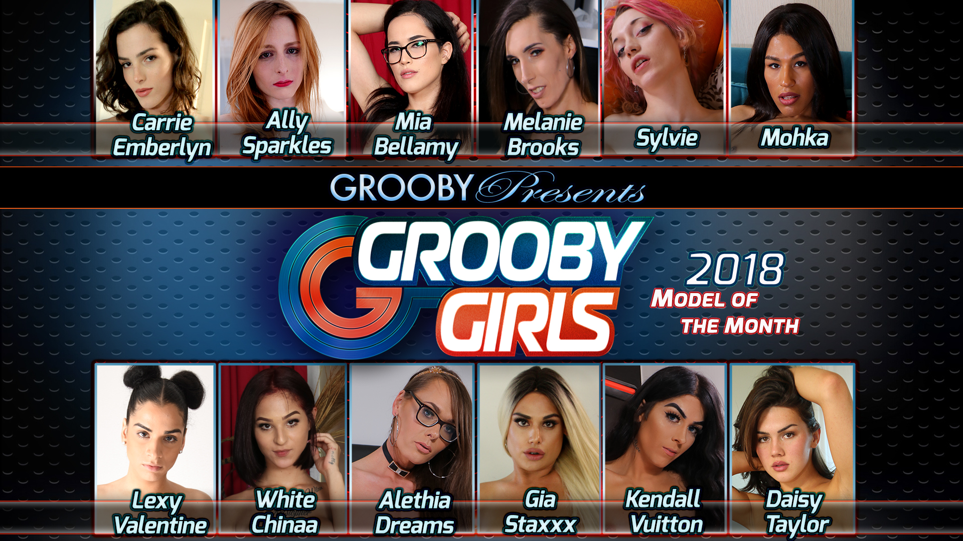 The 2018 GroobyGirls DVD Trailer