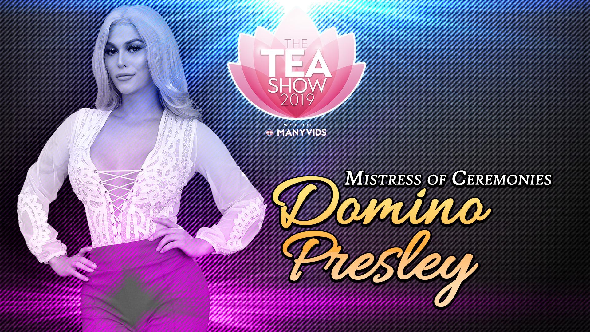 TEA2019 Domino Presley RedCarpet