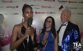 TEA2019 Dr Alexander Sinclaire & Jacquie Blu RedCarpet