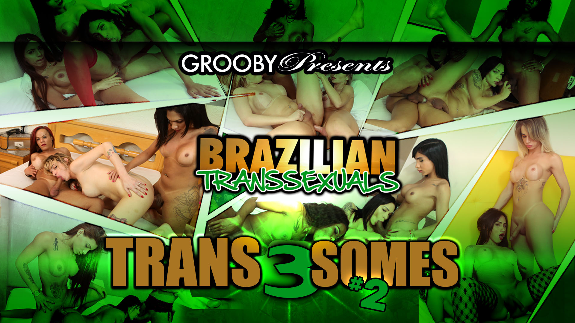 Brazilian Transsexuals  Trans3Somes #2 -Trailer