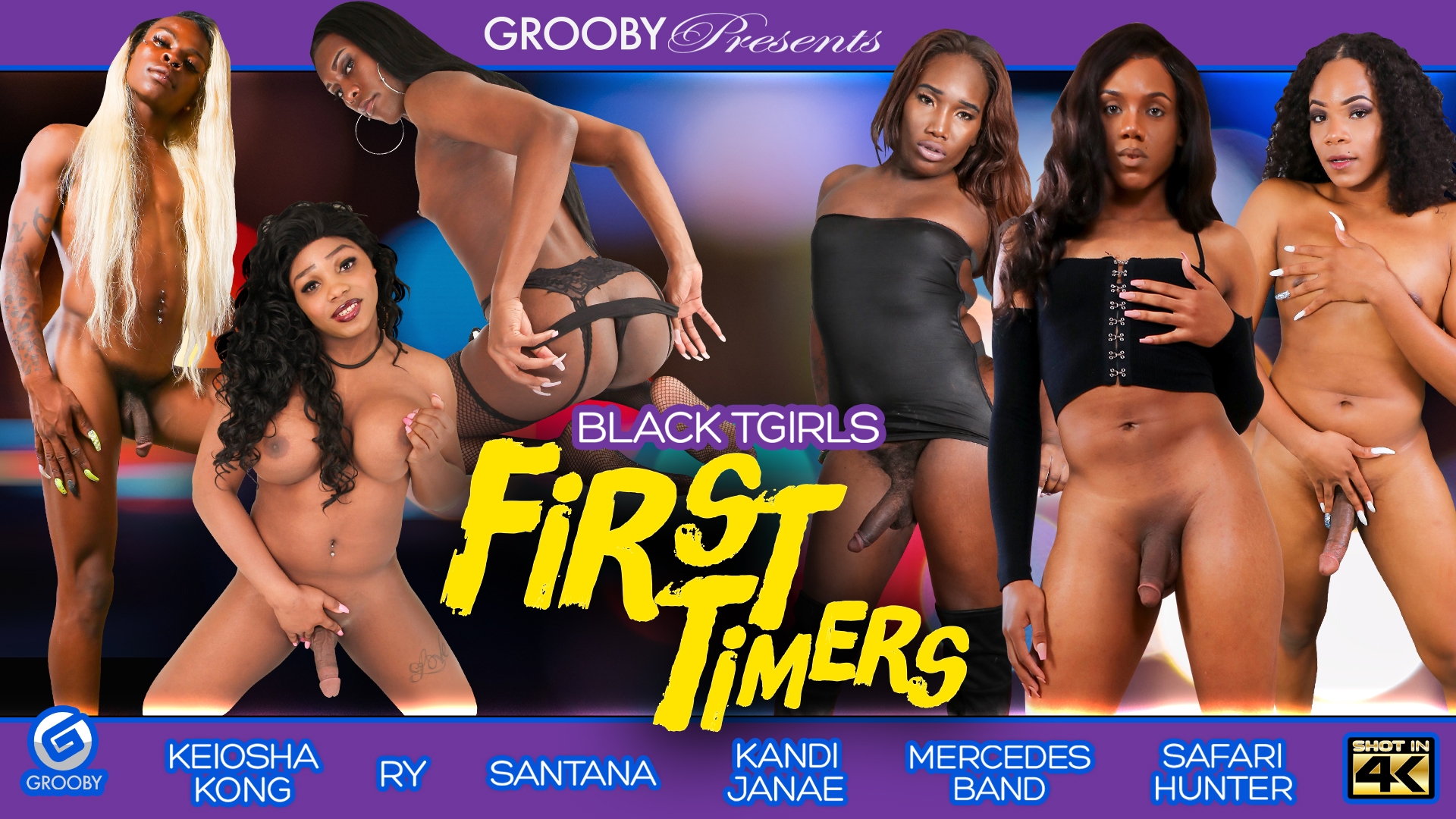 Black-Tgirls - First Timers - DVD Trailer
