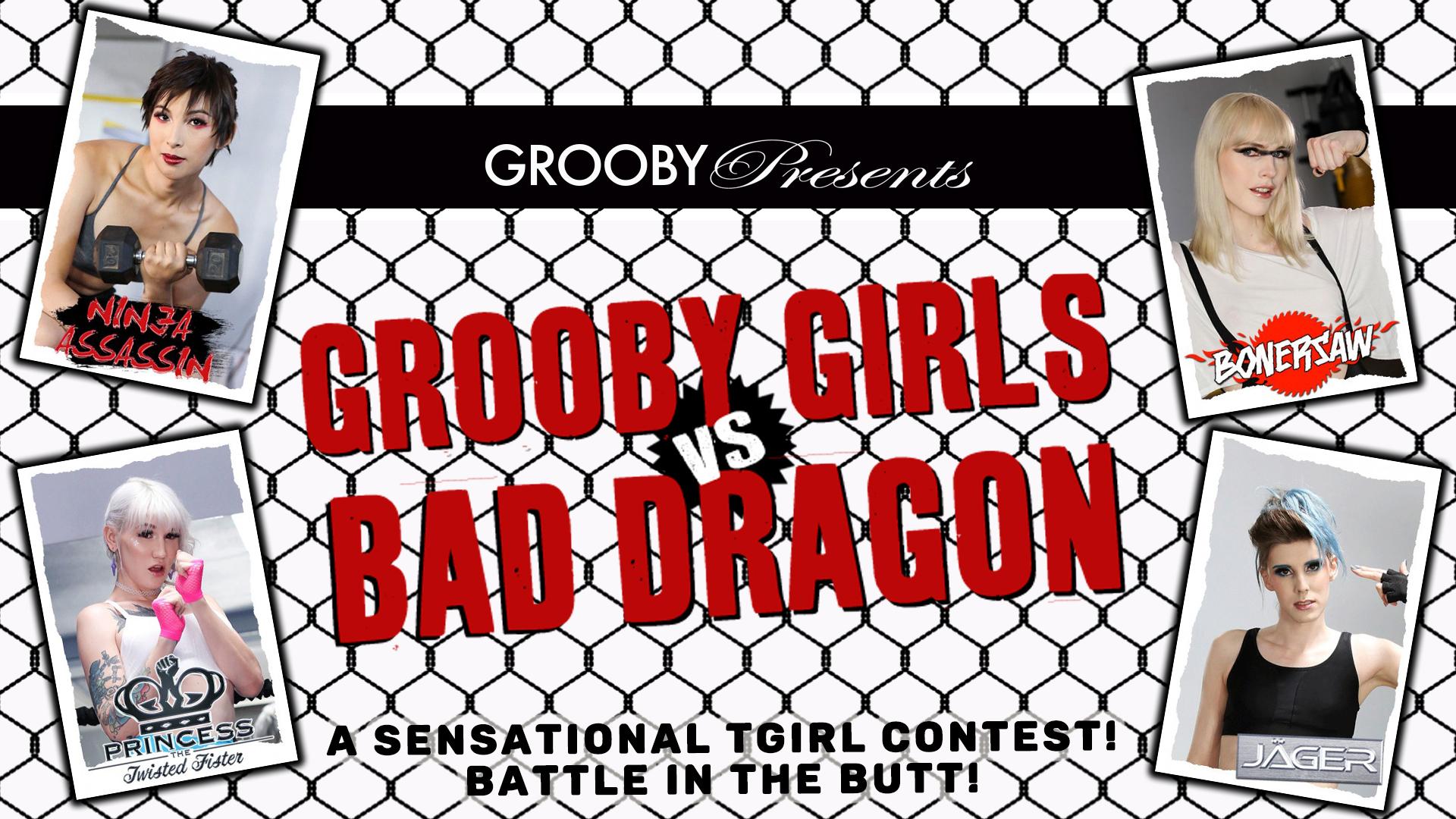 Grooby Girls vs Bad Dragon DVD Trailer