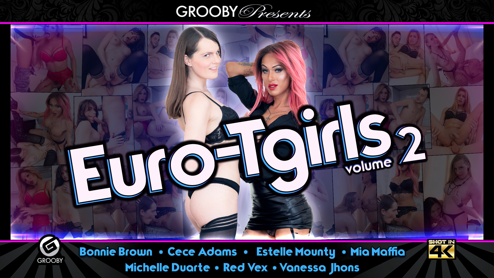 EuroTgirls volume 2 -DVD Trailer
