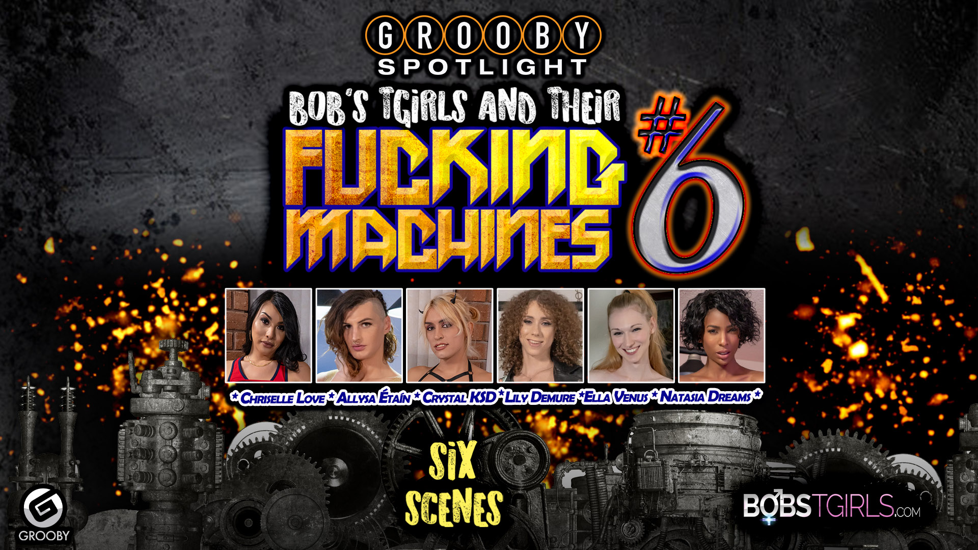 Bob's Tgirls and Their Fucking Machines #6 - DVD Trailer