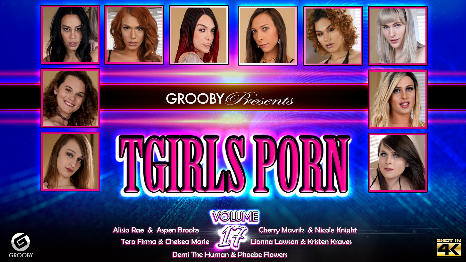 Tgirls Porn Volume 17 - DVD Trailer