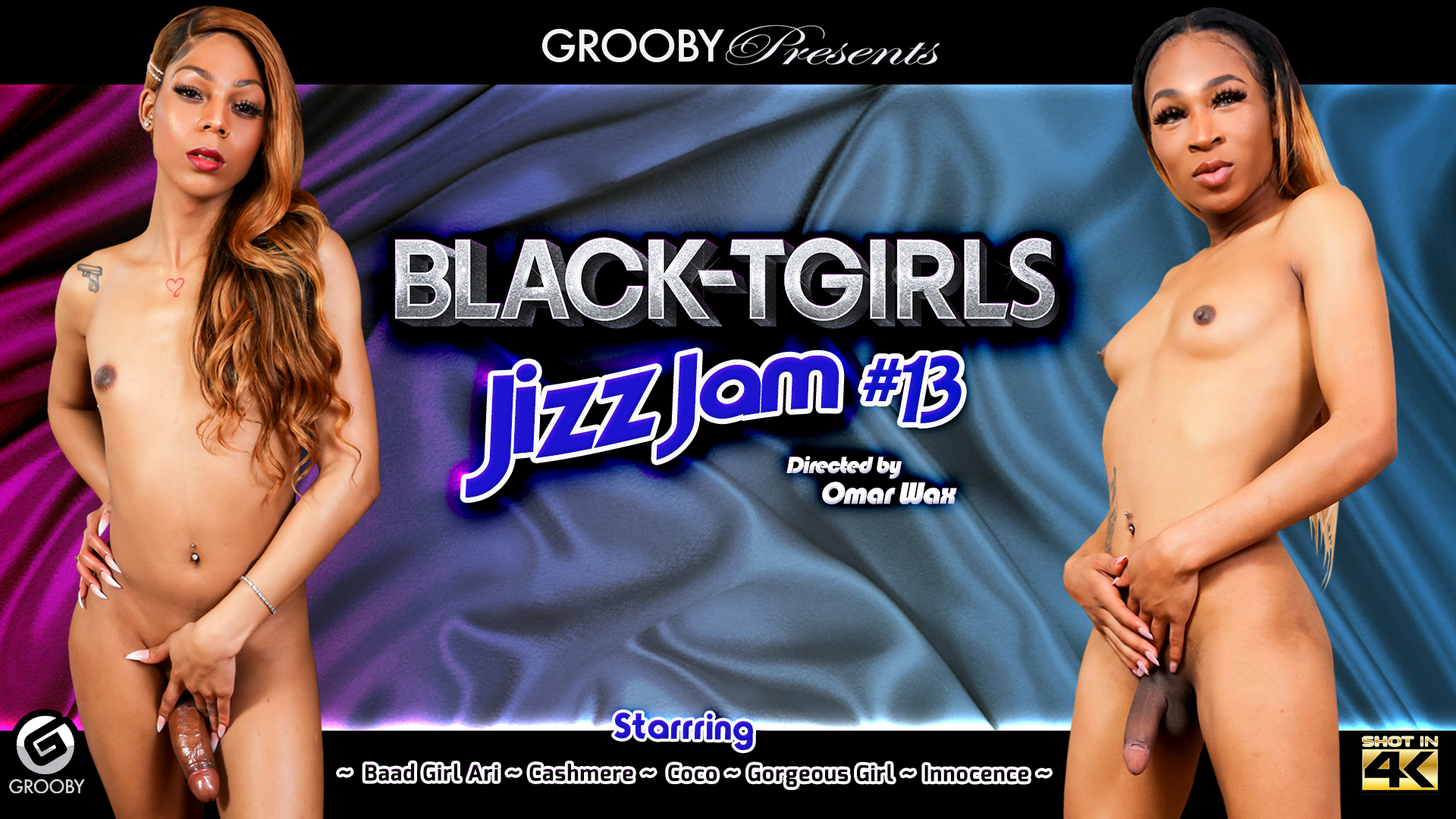 Black-Tgirls Jizz Jam # 13 DVD Trailer