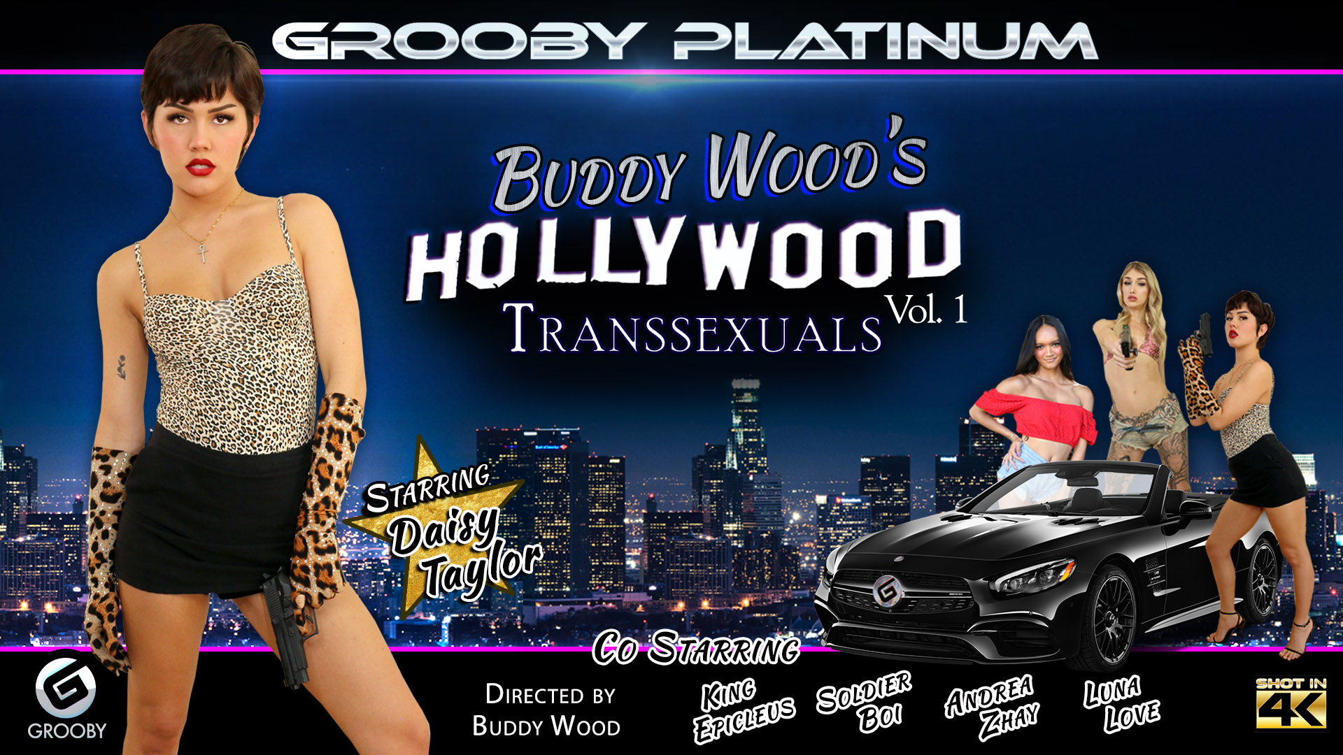 Buddy Woods Hollywood Transsexuals Vol 1 DVD Trailer