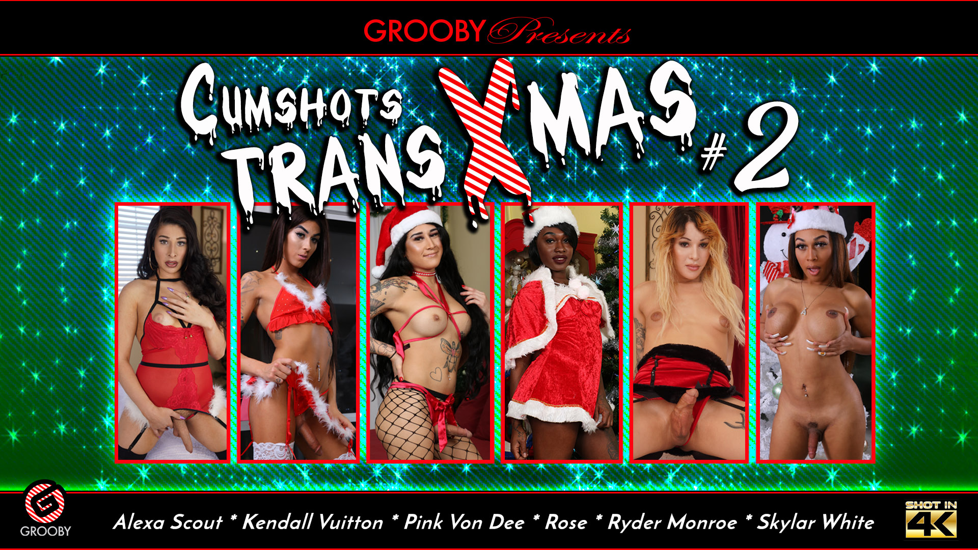 Cumshots Trans Xmas #2 DVD Trailer