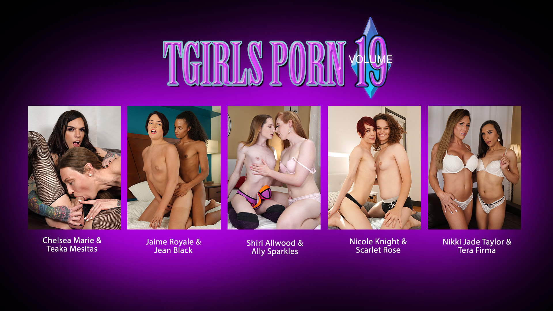 Tgirls Porn Volume 19 DVD Trailer